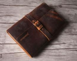 custom leather notebooks