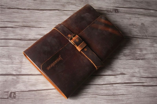 custom leather notebooks