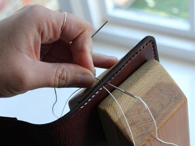 Custom Leather Portfolio Handmade Gifts