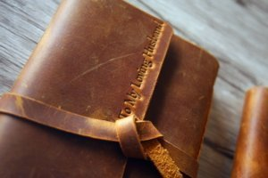 italian leather journal leather gifts