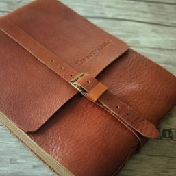 leather baby photo album gift