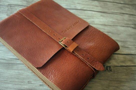 leather baby photo album gift