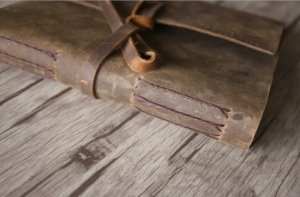 premium leather bound album