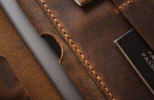 leather briefcase portfolio