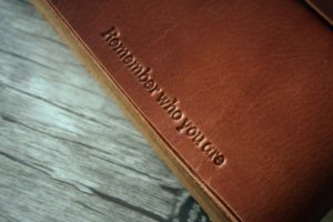 leather gifts wedding album