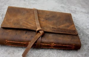 leather picture albums