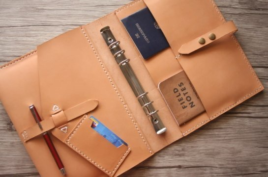leather portfolio binder unique gifts
