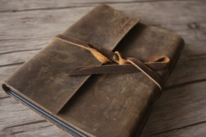 personalized leather 4x6 photo albums