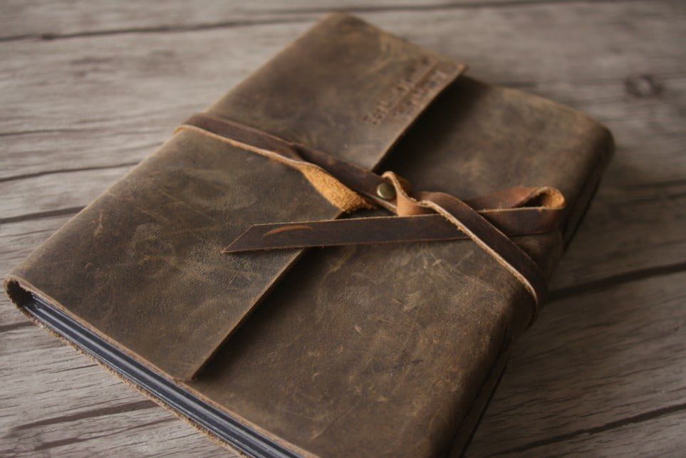 Leather 4x6 Photo Albums Handmade Guestbook Flixgifts