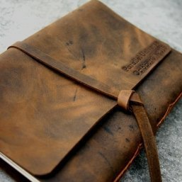 personalized leather photo albums leather gifts