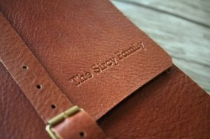 photo albums handmade by italian leather