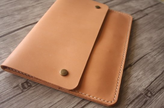Italian leather pad portfolio