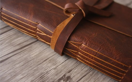 Unqiue leather gifts leather journal