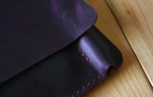 apple pencil case leather portfolio