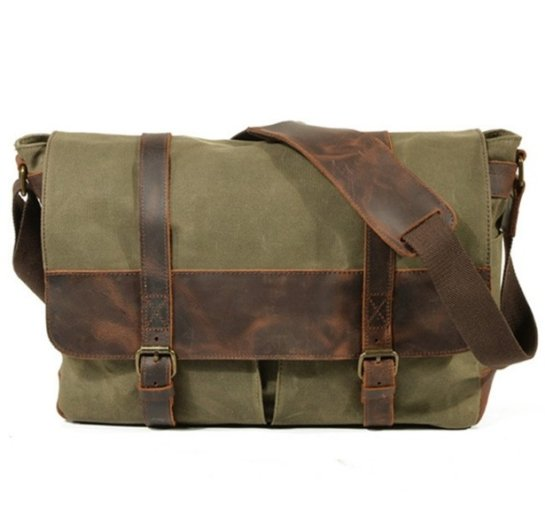 army green canvas bags