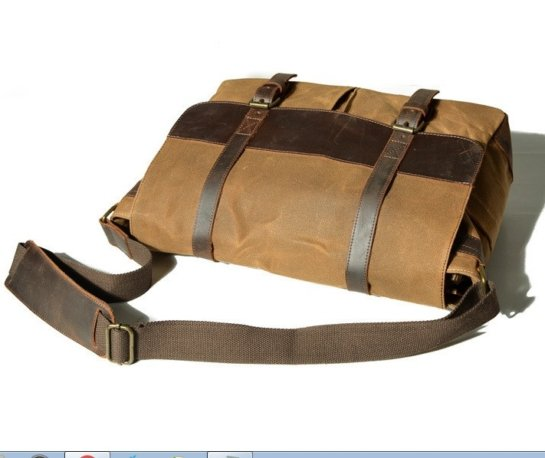 canvas bags leather