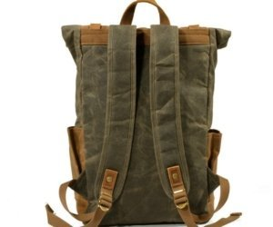 canvas purse leather backpack bags