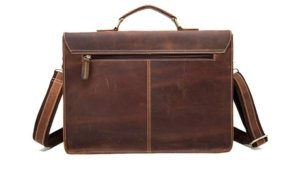 distressed leather briefcase bags