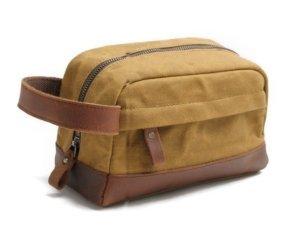 dopp kit leather for men