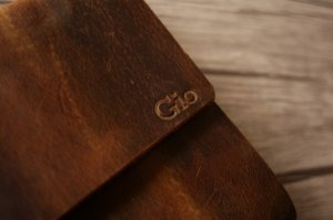 genuine leather diary journal