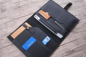 ipad leather portfolio