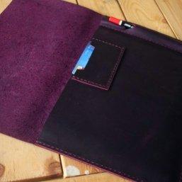 ipad pro leather portfolio case