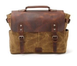 khaki canvas messenger bags