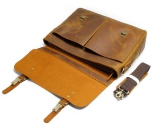 laptop leather messenger bags