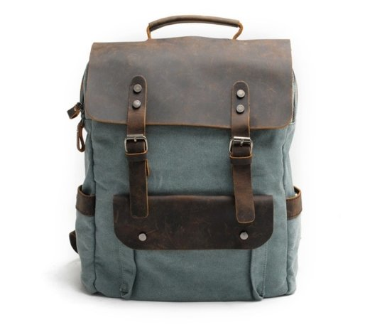 leather backpack bags men