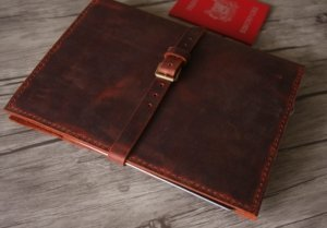 leather binder portfolios