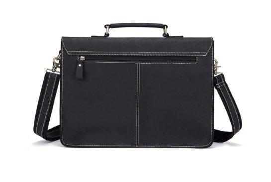 leather briefcase amazon