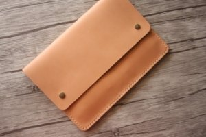 leather business pad folder