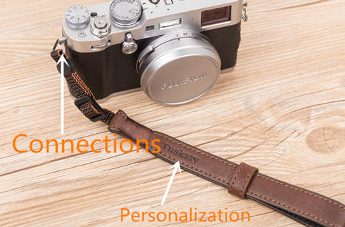 leather camera straps connection choose
