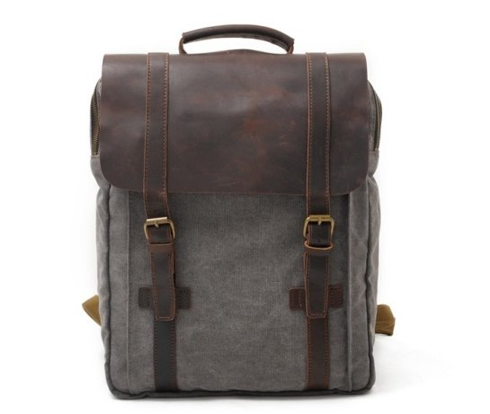 leather canvas backpack bags