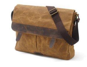 leather canvas shoulder bags