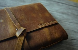 leather journal embossed notebooks