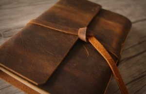 leather diary journal with lock