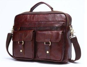 leather work bag