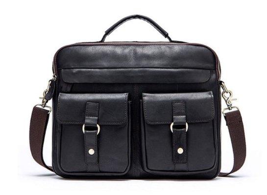 leather work bag women's handbag