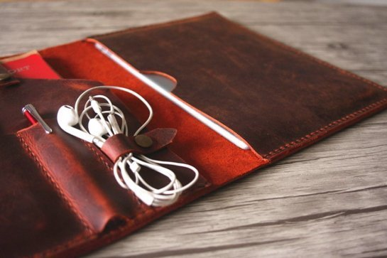 personalized leather gifts portfolio