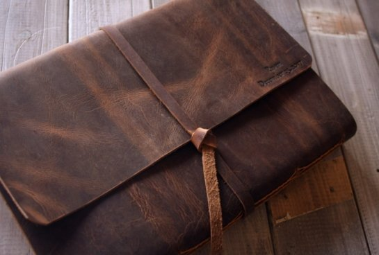 personalized vintage leather notebook journals