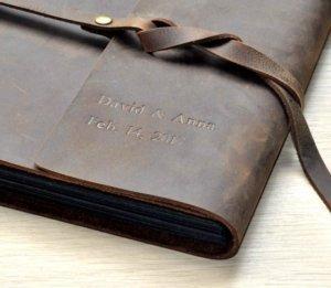 premium leather photo albums