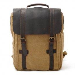 retro canvas backpacks