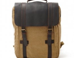 retro canvas backpacks