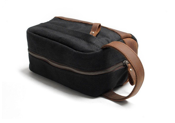 78873894956c Canvas dopp kit leather bags - FlixGifts