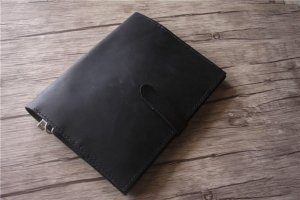 staples leather portfolio