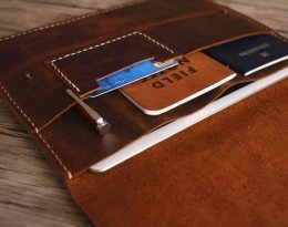 tablet leather portfolio