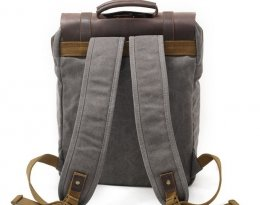 waxed canvas bags backpack