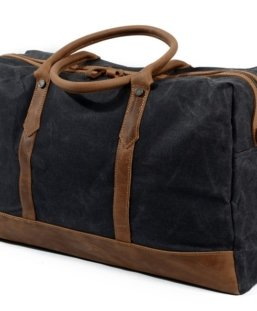 waxed canvas luggage