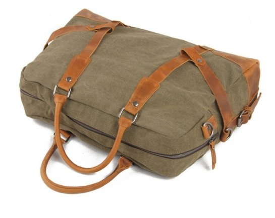waxed canvas weekend messenger bags